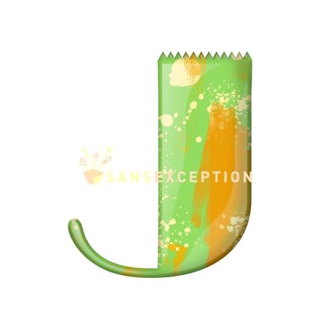 letter art images. D.: initial J letter art deco